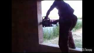 getlinkyoutube.com-Обсадная коробка ( окосячка ) в деревянном дома