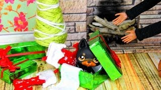getlinkyoutube.com-How to Make Doll Holiday Accessories - Doll Crafts