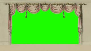 getlinkyoutube.com-curtain background in green screen free stock footage