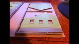 getlinkyoutube.com-Walthers Cornerstone Sunrise Feed Mill pt1