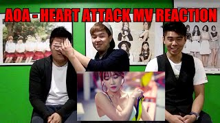 getlinkyoutube.com-AOA - HEART ATTACK MV REACTION (FUNNY FANBOYS)