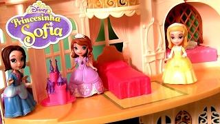 getlinkyoutube.com-Castelo Mágico da Princesinha Sofia ToysBR Disney Sofia The First Magical Talking Castle
