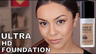 getlinkyoutube.com-Makeup Forever Ultra HD Foundation Review - TrinaDuhra