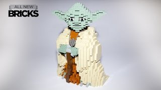 getlinkyoutube.com-Lego Star Wars 7194 Yoda Ultimate Collector Series 2002 Speed Build