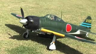 getlinkyoutube.com-FMS Zero A6M Fighter - 1400mm R/C Warbird