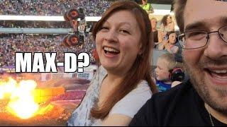 getlinkyoutube.com-WIFE Likes MAX-D Monster Jam! Grim's EPIC REACTION to Front Flip