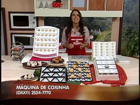 MERCHAN ELISANGELA MÁQUINA DE FAZER COXINHA