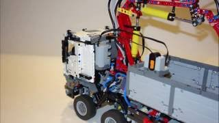 getlinkyoutube.com-Ultimate Modification Lego Technic 42043 Mercedes-Benz Arocs 3245