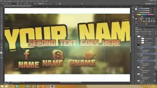 getlinkyoutube.com-Minecraft Style Banner Template #1