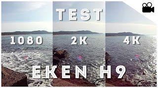 getlinkyoutube.com-[Test] Eken H9 - 1080p Vs 2K Vs 4K - ActionCam Italia