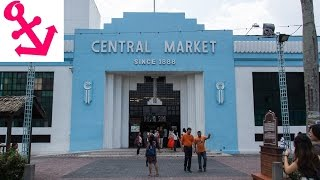 [FULL HD] Central Market (Pasar Seni) in Kuala Lumpur Malaysia Chinatown's Central Market,