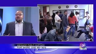 El abogado Pablo Hurtado nos habla sobre el TPS y el DACA