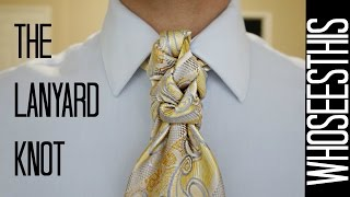 getlinkyoutube.com-The Lanyard knot : how to tie a tie