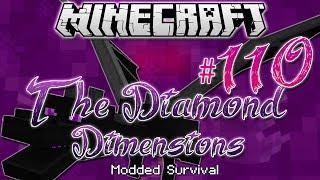 """ULTIMATE ENDER DRAGON BOSS"" | Diamond Dimensions Modded Survival #110 | Minecraft"