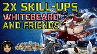 getlinkyoutube.com-Double Skill-Ups JPN, Whitebeard Shows His Love [One Piece Treasure Cruise]