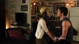 "getlinkyoutube.com-Pretty Little Liars 1x18 ""The Badass Seed"" Aria and Ezra Scenes"