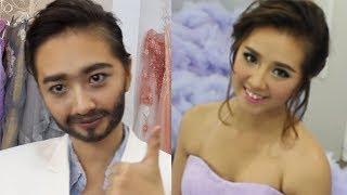 getlinkyoutube.com-Girl to boy Transformation / Makeup ✔