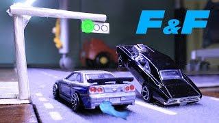 getlinkyoutube.com-Brian vs Dom - Fast and Furious Stop Motion Minimovie
