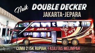 MEWAH tapi MURAH!! Naik Agra Mas DOUBLE DECKER MURIAAN Jakarta-Jepara BM 105