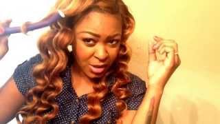 getlinkyoutube.com-Flexi Rods DIY: Hair Mafia Extensions