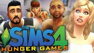 getlinkyoutube.com-Sims 4 - ALL NEW DEATHS! - The Sims 4 Hunger Games (Sims 4 Funny Moments)