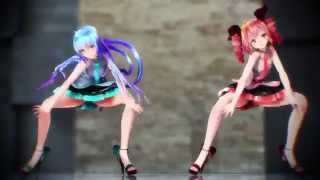 getlinkyoutube.com-【MMD】Shake It Off【Tda式改変ミク、テト】