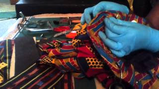 HANDMADE BAG USING ANKARA.A FREE PROJECT.(video 6)