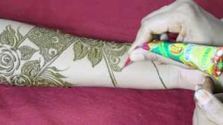getlinkyoutube.com-Mehandi Design Front Hand Video 40 - ILoveMehandi.TV