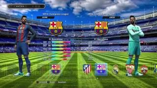 PES 2013 NEW season 16/17 patch for PS3 Preview