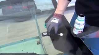 getlinkyoutube.com-Tutorial VetroAuto - Come montare un parabrezza