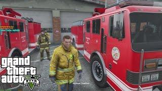 getlinkyoutube.com-GTA 5 FIREFIGHTER MOD - LSFD - EPiSODE 4 - LET'S GO