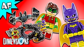 Lego Dimensions Batman Movie Batwing, Black Thunder, Bat-Tank 71264 Speed Build Instructions