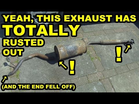 Removing A Horribly Rusty Exhaust - Daihatsu Cuore Avanzato TR-XX R4 Project Episode 5
