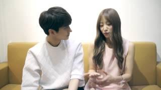getlinkyoutube.com-빅스 켄 X EXID 하니 가 듀엣곡 '빈틈' 으로 인사드립니다!!