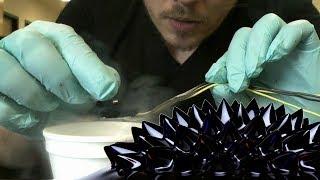 getlinkyoutube.com-Mixing Ferrofluids and Superconductors!