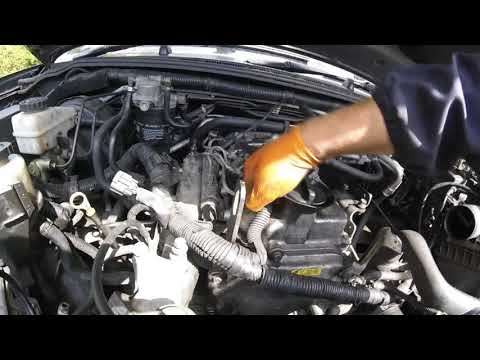 Part 1 How to remove the head of the Nissan Pathfinder block / часть 1 Как снять головку блока Nissa