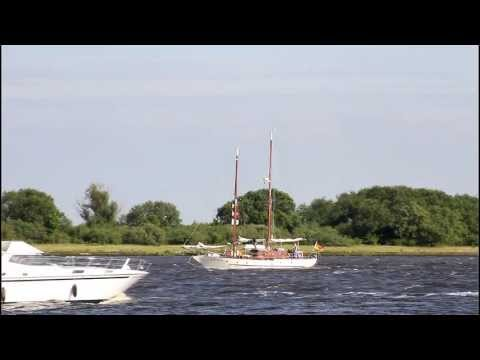 Click to view video CEMENTESSE - Germany - Weser - Hunte - Elsfleth - HD