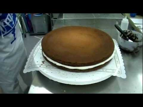 Trucos para rellenar una tarta de fondant. keyks