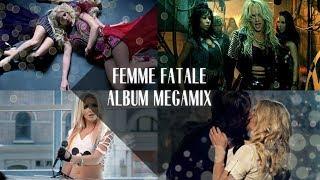 getlinkyoutube.com-Britney Spears: Femme Fatale Album Megamix