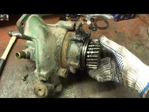 Замена водяного насоса VOVLO FH-12 Replacing Water Pump