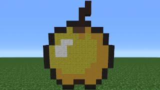 getlinkyoutube.com-Minecraft Tutorial: How To Make A Golden Apple