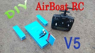 getlinkyoutube.com-How to make Airboat RC - Version 5