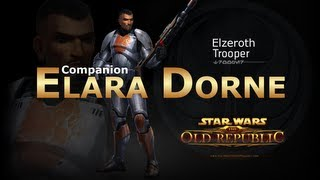 SWTOR: Trooper - Elara Dorne Romance Conversations