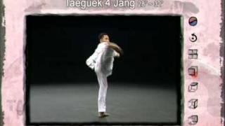 4ο Πούμσε: Τάεγκουκ Σα Τζανγκ (Poomsae Taeguek Sa Jang)