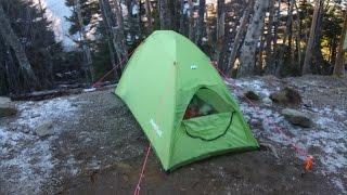 getlinkyoutube.com-【雲取山】ウルトラライトで冬山登山(テント泊)その2:キャンプ編