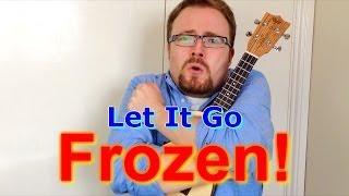 getlinkyoutube.com-Let It Go - Frozen (Ukulele tutorial)