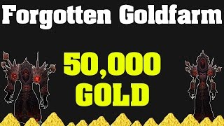 getlinkyoutube.com-Legion: Forgotten Goldfarm - 50,000g   WoW Goldfarming Guide  