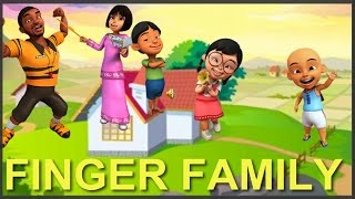 getlinkyoutube.com-Upin Ipin Animation Finger Family Song | Daddy Finger Popular Nursery Rhymes | Keanu Kids