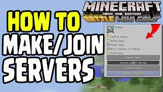 getlinkyoutube.com-Minecraft PS4/Xbox360/Wii U - HOW TO MAKE/JOIN BATTLE MODE SERVER! FIND PLAYERS! (TU36)