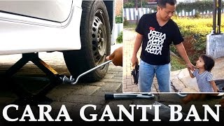 getlinkyoutube.com-CARA GANTI BAN || How Change The Tire